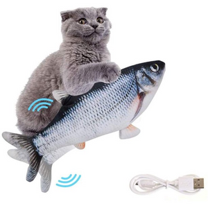 Moving Fish Cat Toy - Flopping Fish