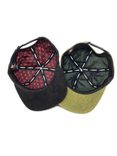 "Laden Sie das Bild in den Galerie-Viewer, Doppelpack K-Snapback ""Black and Olive"""