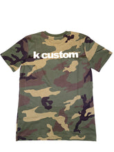 "Laden Sie das Bild in den Galerie-Viewer, K-custom T-Shirt ""Camouflage """