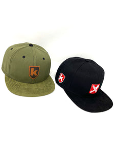 "Doppelpack K-Snapback ""Black and Olive"""