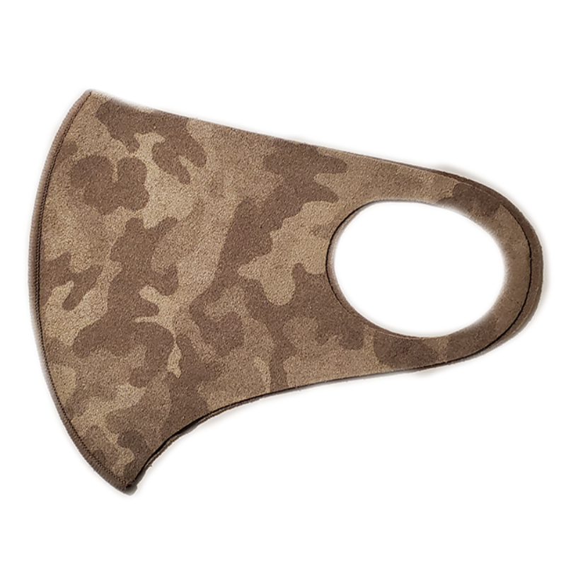Microfiber, Light Brown, Camouflage - MasKeith