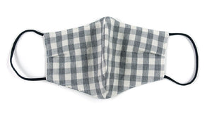 Cotton, Plaid, Gray - MasKeith