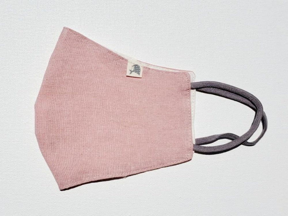 Linen, Solid Soft Pink - MasKeith