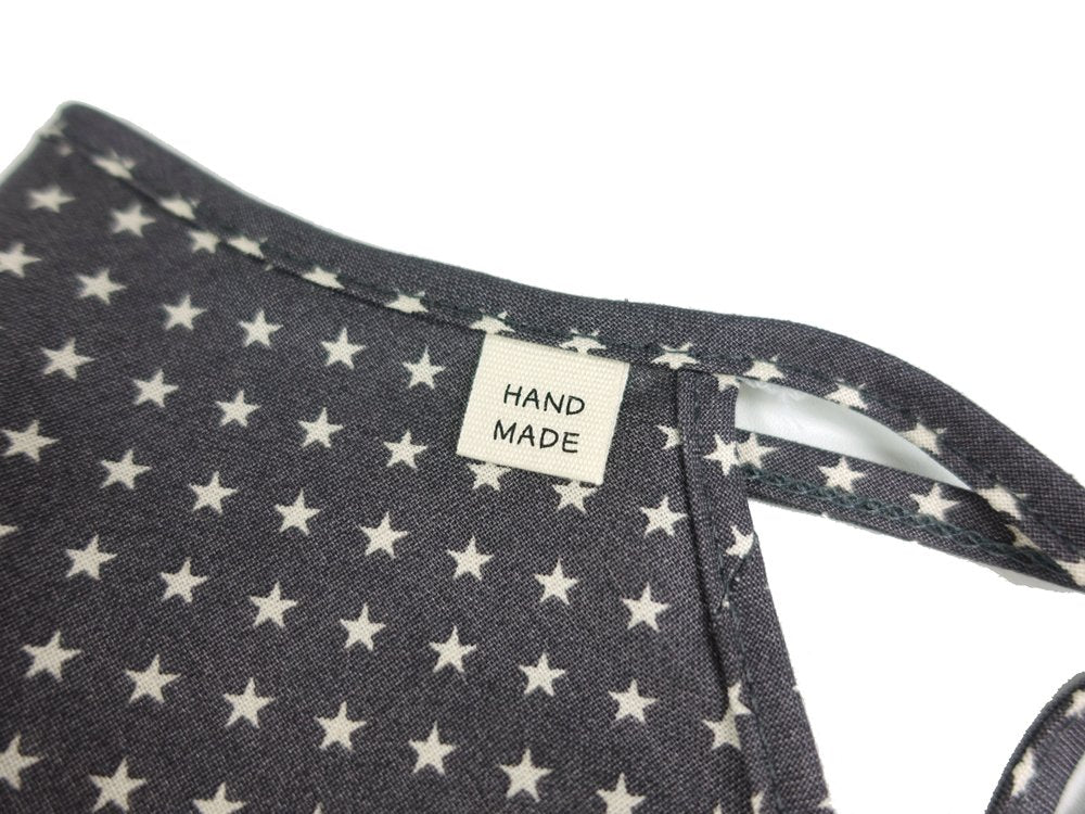 Cotton & Mesh, Stars on Black, No. 11 - MasKeith