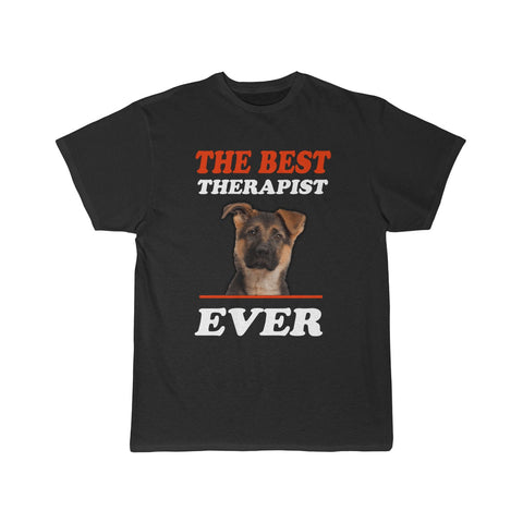 Best Therapist Ever Dog Lover Men's Short Sleeve Tee - Xshirt Your Motivation