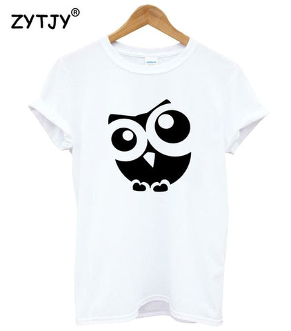 Baby Owl Print Women Tshirt - Xshirt Your Motivation