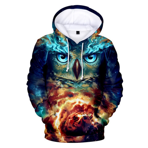 Cute Animal OWL 3D Hoodies Unisex Sweatshirts - Xshirt Your Motivation