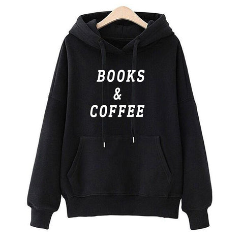Books & Coffee Lover Hoodie - Xshirt Your Motivation
