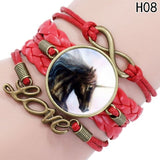 3D Cool Horse Lover Design Bracelet Horseback Riding Men/Women Fire Horse Unicorn Bracelet - Xshirt Your Motivation
