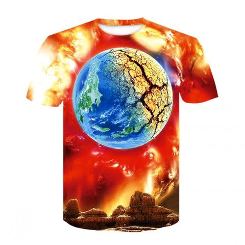Apocalyse Earth Cool T Shirt - Xshirt Your Motivation
