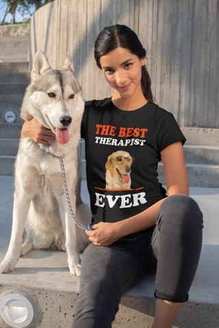 Best Therapist Ever Dog Lover Women's Favorite Tee - Xshirt Your Motivation