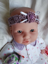 Load image into Gallery viewer, Pretty in Purple Baby Headband