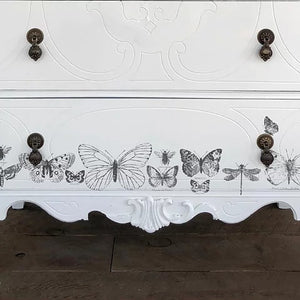 NEW!!!  Butterflies Decor Stamp