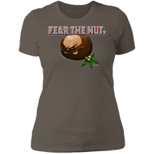 Load image into Gallery viewer, Fear The Nut NL3900 Ladies' Boyfriend T-Shirt