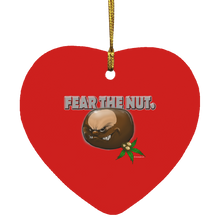 Load image into Gallery viewer, fear the nut ornament SUBORNH Heart Ornament