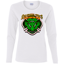 Load image into Gallery viewer, CFD Irish G540L Ladies' Cotton LS T-Shirt