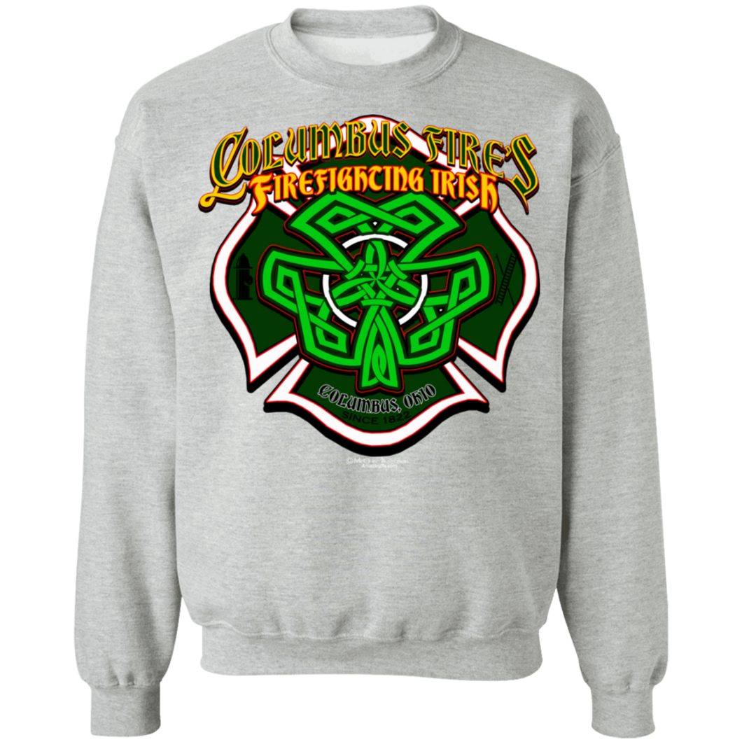 CFD Irish G180 Crewneck Pullover Sweatshirt  8 oz.