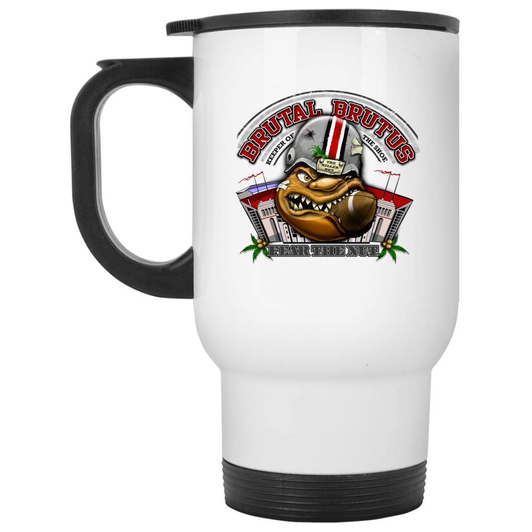 Brutal Brutus Mug XP8400W White Travel Mug