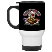 Load image into Gallery viewer, Brutal Brutus Mug XP8400W White Travel Mug