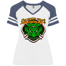 Load image into Gallery viewer, CFD Irish DM476 Ladies' Game V-Neck T-Shirt