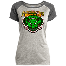 Load image into Gallery viewer, CFD Irish LST362 Ladies Heather on Heather Performance T-Shirt