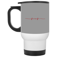 Load image into Gallery viewer, fire wife mug XP8400W White Travel Mug
