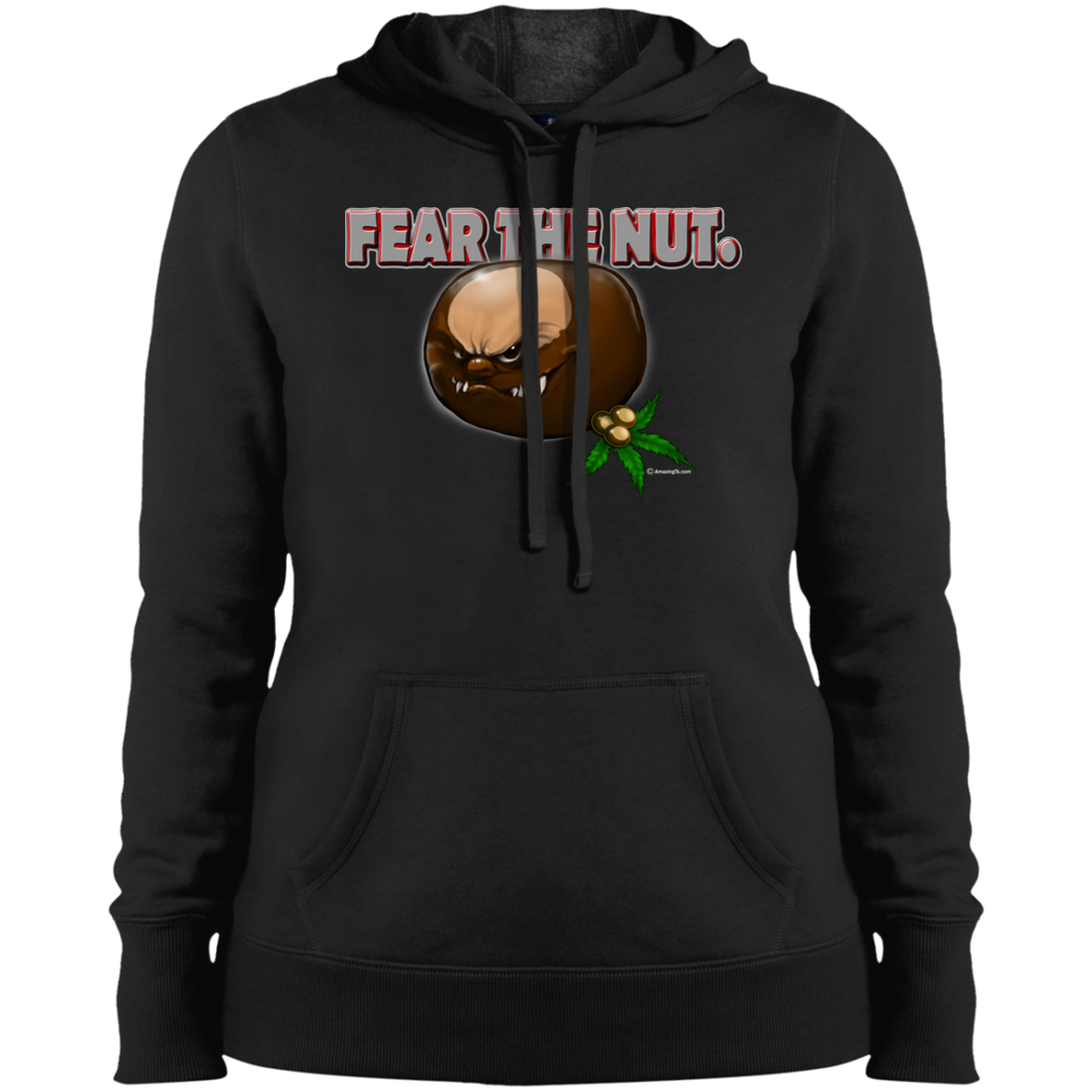 Fear   The Nut LST254 Ladies' Pullover Hooded Sweatshirt