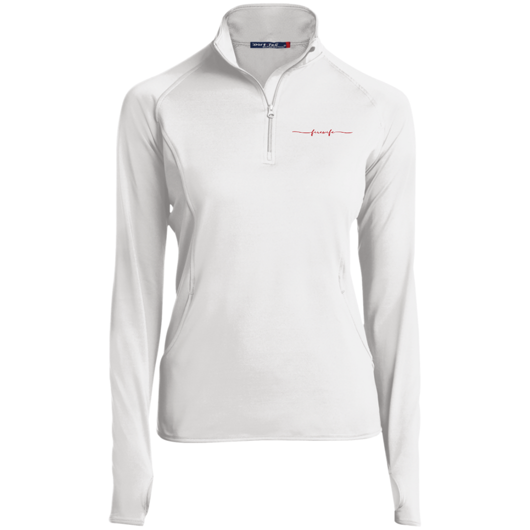 Fire Wife LST850 Women's 1/2 Zip Performance Pullover