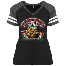 Load image into Gallery viewer, Brutat Brutus DM476 Ladies' Game V-Neck T-Shirt