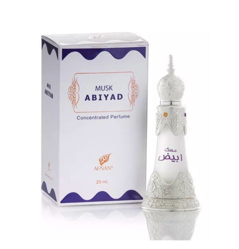 Musk Abiyad (20ml Oil)