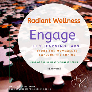 ONLINE 1-2-1 Session: ENGAGE - LEARN LJ Mvmnts