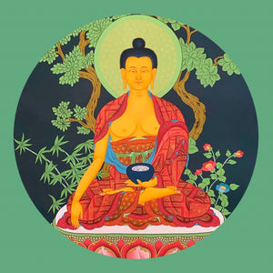 ONLINE: LIVE Private SESSION Tibetan Shamata Meditation - Single ZOOM