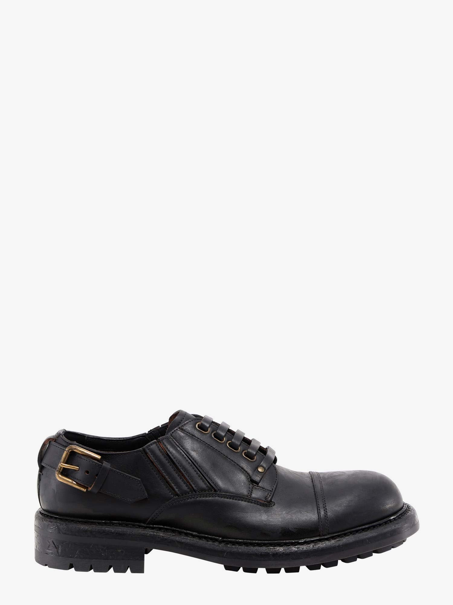 Dolce & Gabbana Leathers LACE-UP