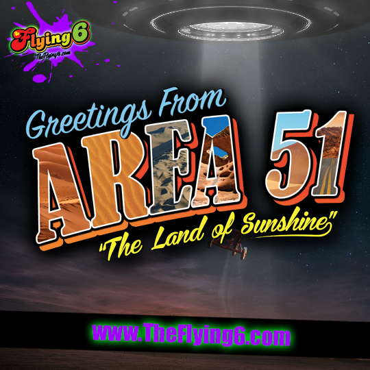 Greetings From Area 51 Land Of Sunshine