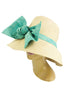 Cara Hat with Mint Bow
