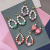 Candy Shell Pearl Earrings