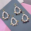 Crystal Charm Earrings