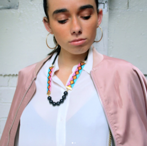 Miami Nights Necklace - Pink