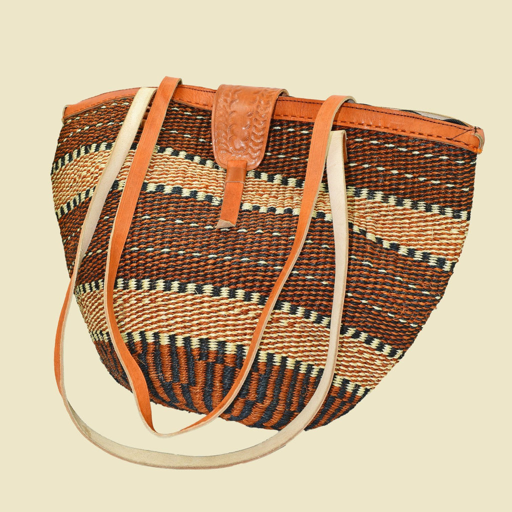 Kikuyu Traditional Handwoven African Shopping Tote