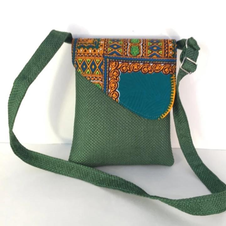 African Traditional  CrossBody Laptop Bag