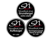 Lade das Bild in den Galerie-Viewer, SN UV LED Gel Set StudioLine
