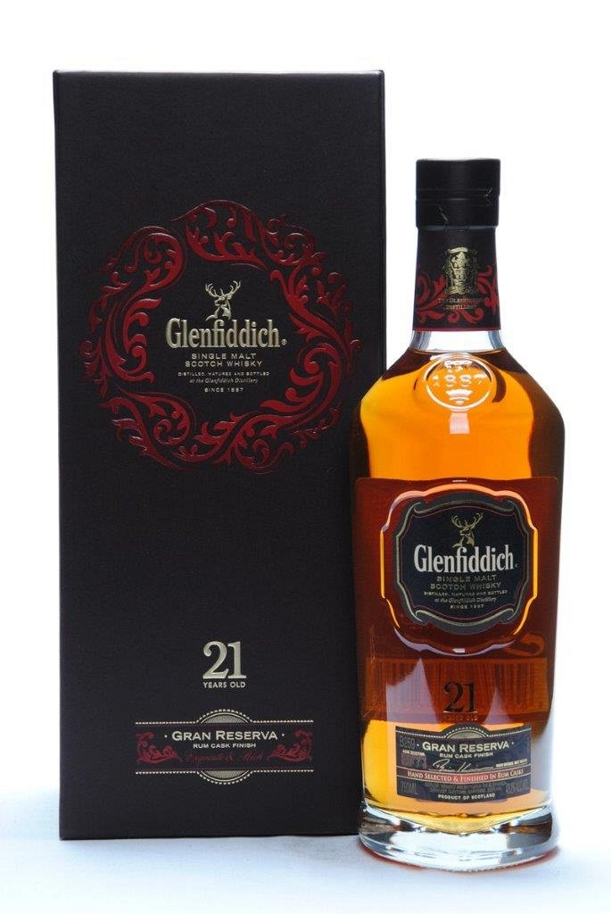 Glenfiddich Gran Reserva 21y Single Speyside Malt 70cl