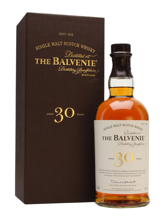 The Balvenie 30y Single Speyside Malt 70cl