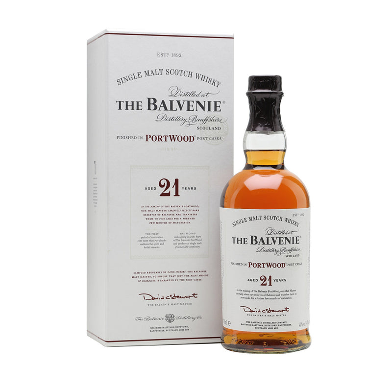 Balvenie Port Wood 21y Single Speyside Malt