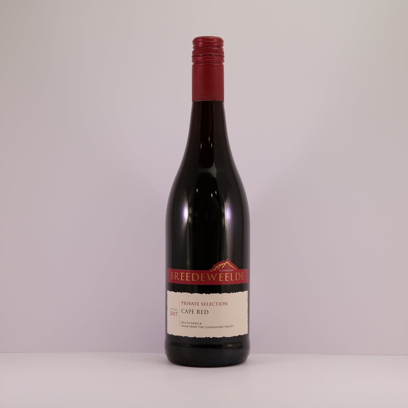 Breedeweelde Cape Red Pinotage Malbec 75cl