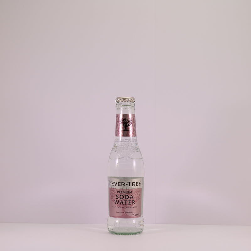 Fever Tree Soda Water 4x20cl
