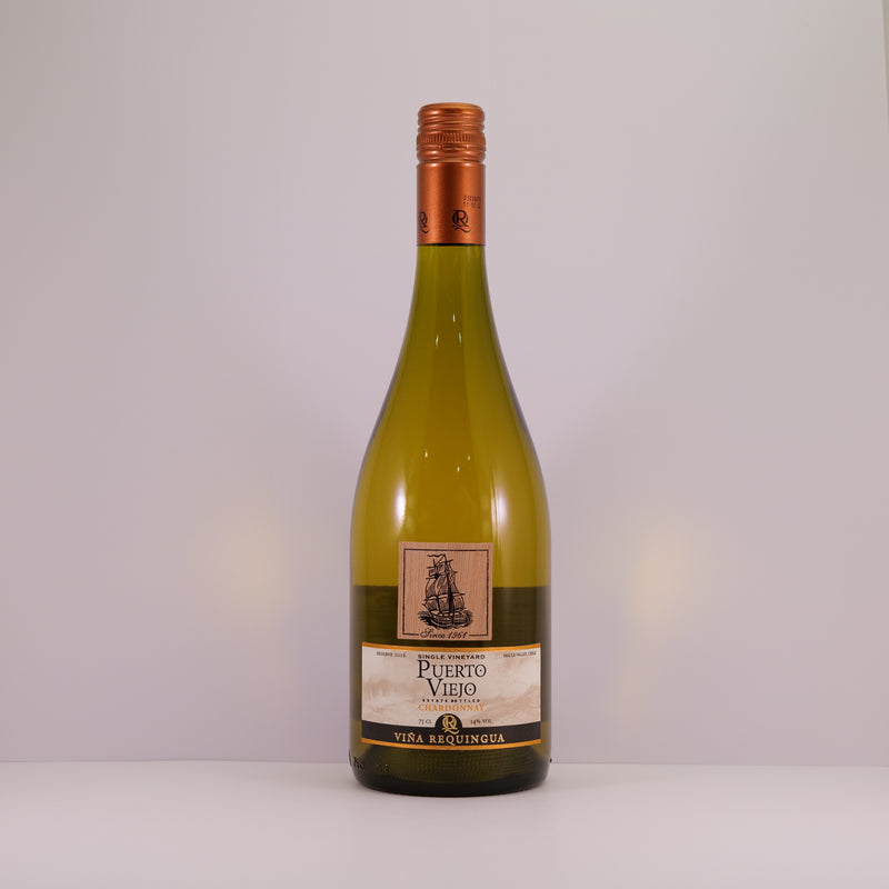 Puerto Viejo Wood Label Chardonnay 75cl