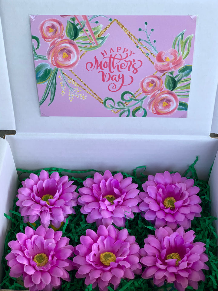 Happy Mother's Day! 6-Pack of Craft Beers Bouquet Box