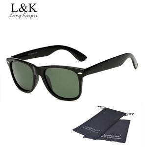 Long Keeper Unisex Retro Polarized Sunglasses