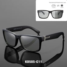 Load image into Gallery viewer, KDEAM Polarized Outdoor Photochromic Sunglass With Box